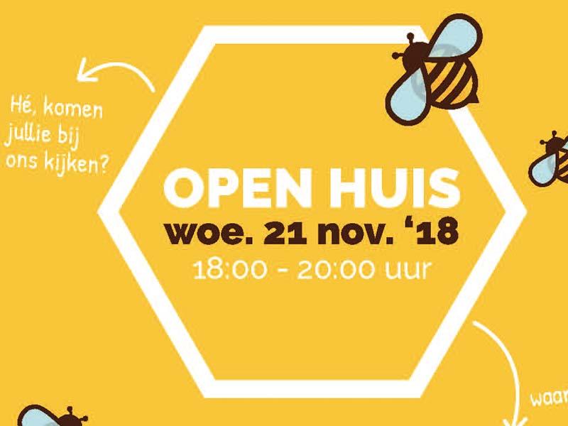 open huis bijenkorf
